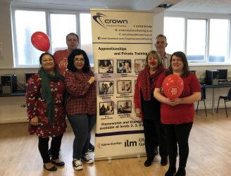 Red Nose Day at Crown Vocational Training